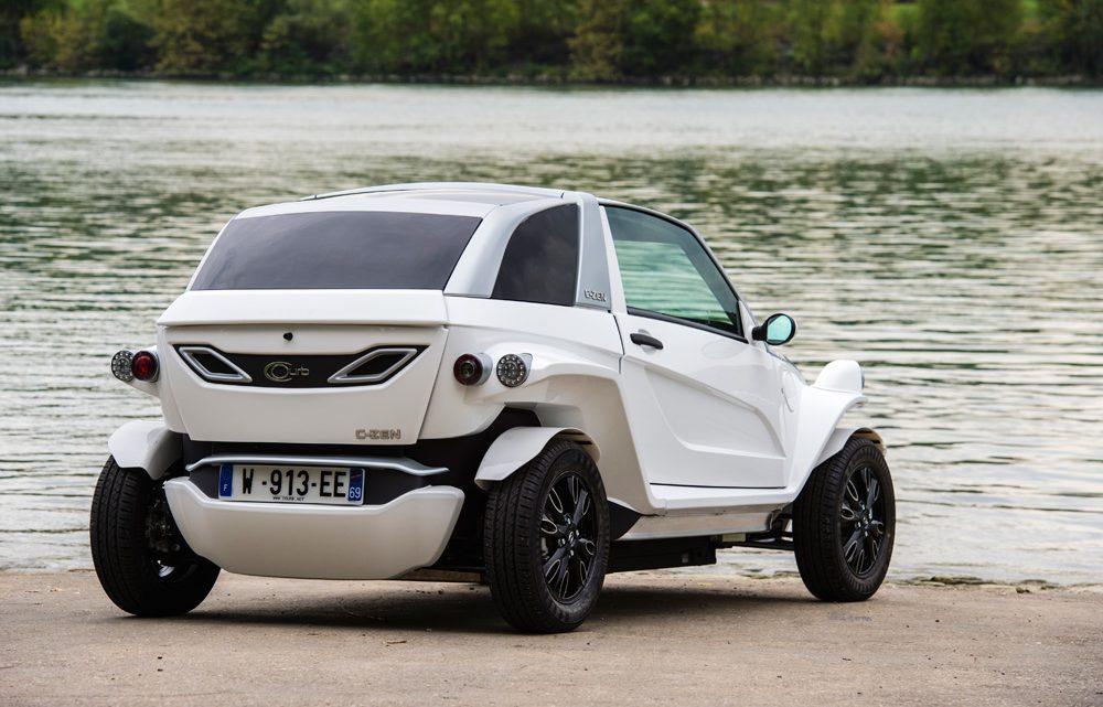 C Zen Courb : voiture 100% électrique