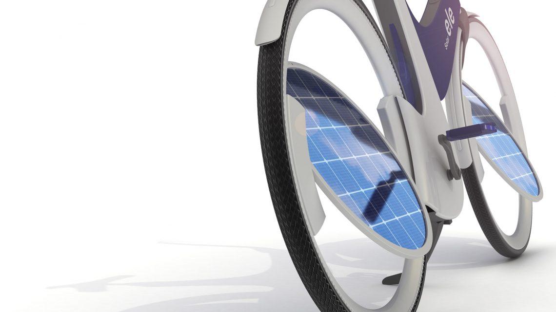 ELE le vélo électrique solaire