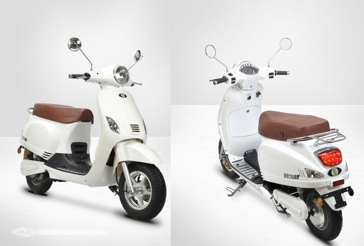Noun Electric le scooter économique