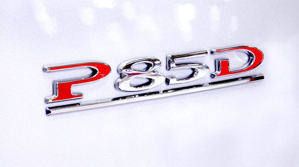 Test Tesla P85D en avant première