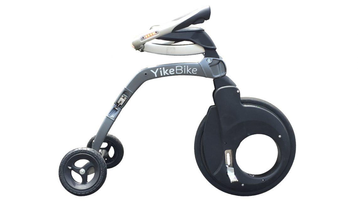 Yikebike : le drôle de deux roues 100% électrique